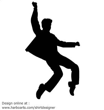Elvis Presley clipart Elvis Jailhouse Rock Silhouette Silhouette rock  Pinterest graphics