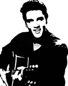 Elvis Presley clipart Elvis Jailhouse Rock Silhouette Art Elvis Pinterest King Images