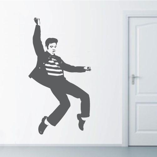 Elvis Presley clipart Elvis Jailhouse Rock Silhouette Decal Dance best Pinterest 154