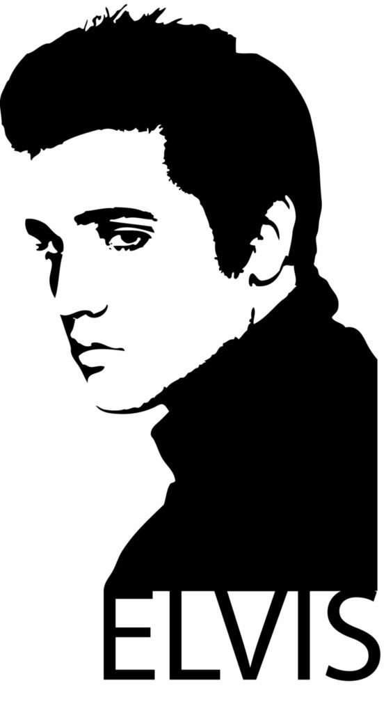 Elvis Presley clipart Elvis Presley Silhouette Repin Art on Silhouettes Pinterest