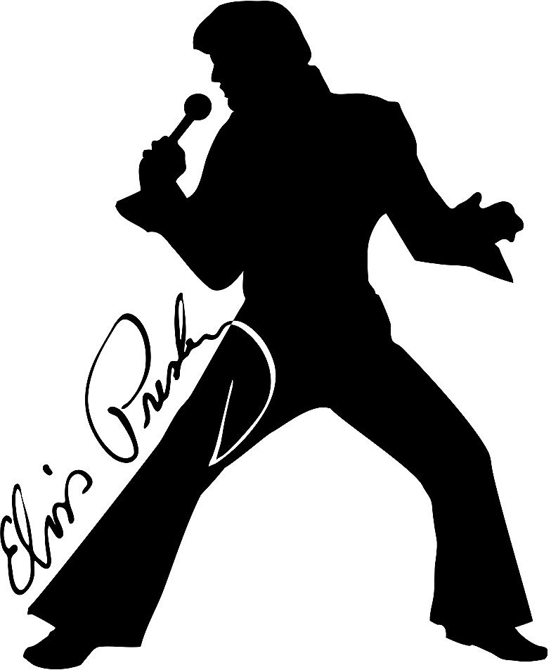 Elvis Presley clipart Elvis Presley Silhouette Elvis and Other and Google
