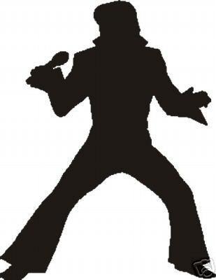 Elvis Presley clipart Elvis Presley Silhouette Images Silhouette Cakes Blog: Elvis