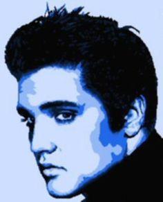 Elvis Presley clipart Elvis Presley Silhouette Number Silhouette Green Noelito Bing