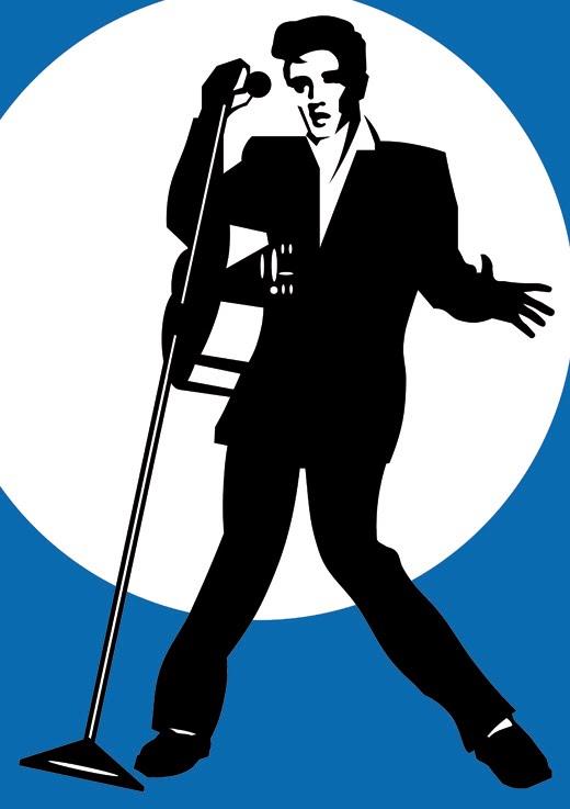 Elvis Presley clipart Elvis Presley Silhouette Inspiration Elvis Others Background Silhouette