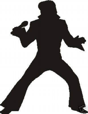 Elvis Presley clipart Elvis Silhouette Profile Search Elvis Fan Elvis Cookies