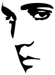Elvis Presley clipart Elvis Silhouette Profile Pop pinterest Wall Decal com/creastyle/silhouette