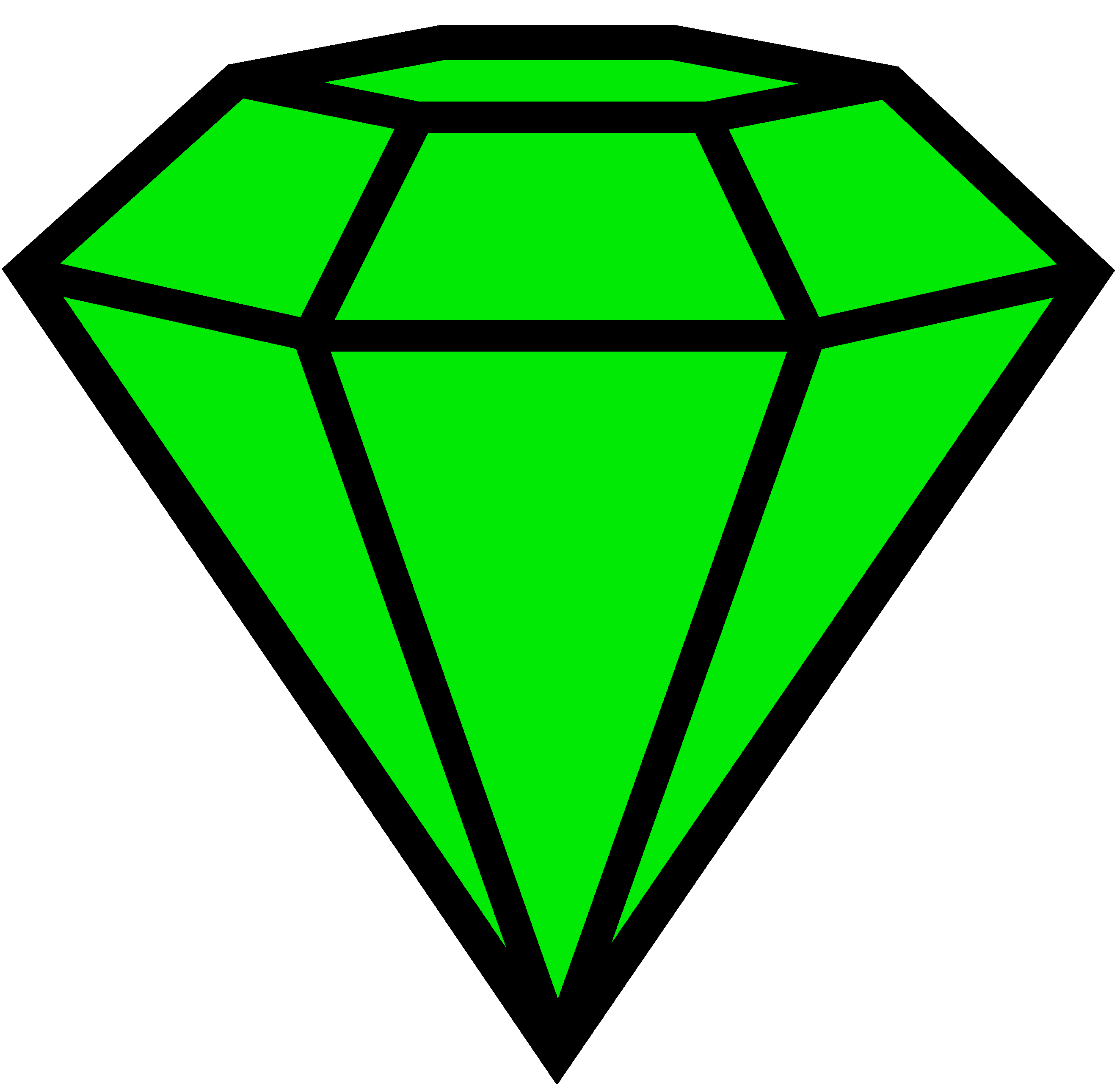 Emerald clipart #13