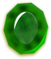 Emerl clipart gemstone Birthstone Art Clip Emerald Emerald