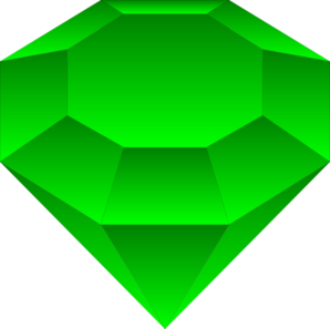 Emerald clipart cartoon  Emerald vector Art Clker