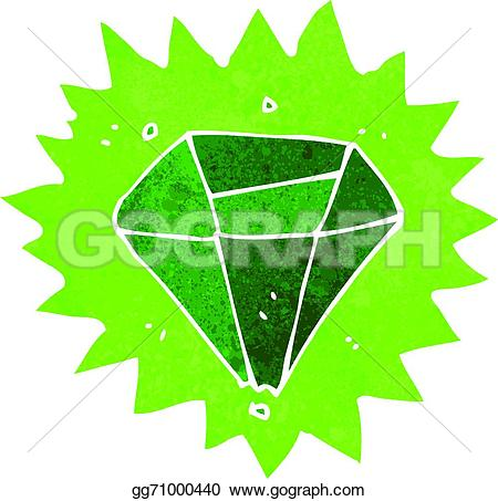 Emerald clipart cartoon Stock Vector gg71000440 Clipart Cartoon