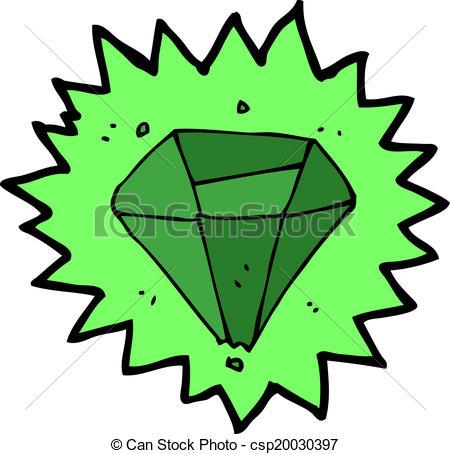 Emerald clipart cartoon Cartoon of  Clip Vectors