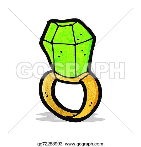 Emerald clipart cartoon Stock emerald  gg72288993 Cartoon