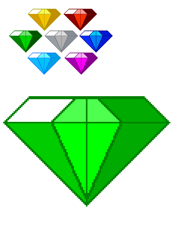 Emerald clipart small colored gem stone shape Image search  emeralds master