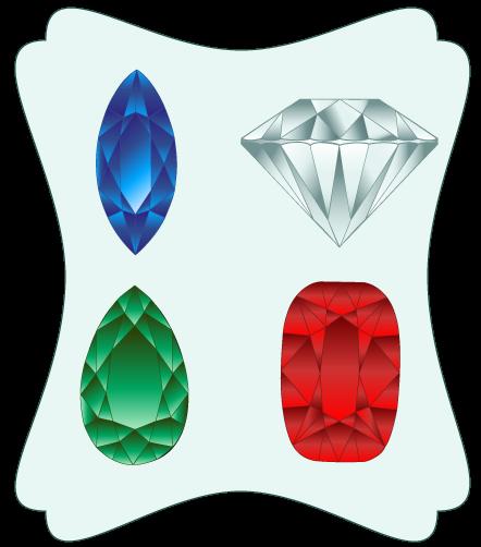 Emerald clipart diamond Or Emerald Zone Cliparts Green