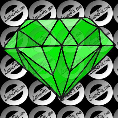Emerald clipart diamond Great Emerald Emerald Use for