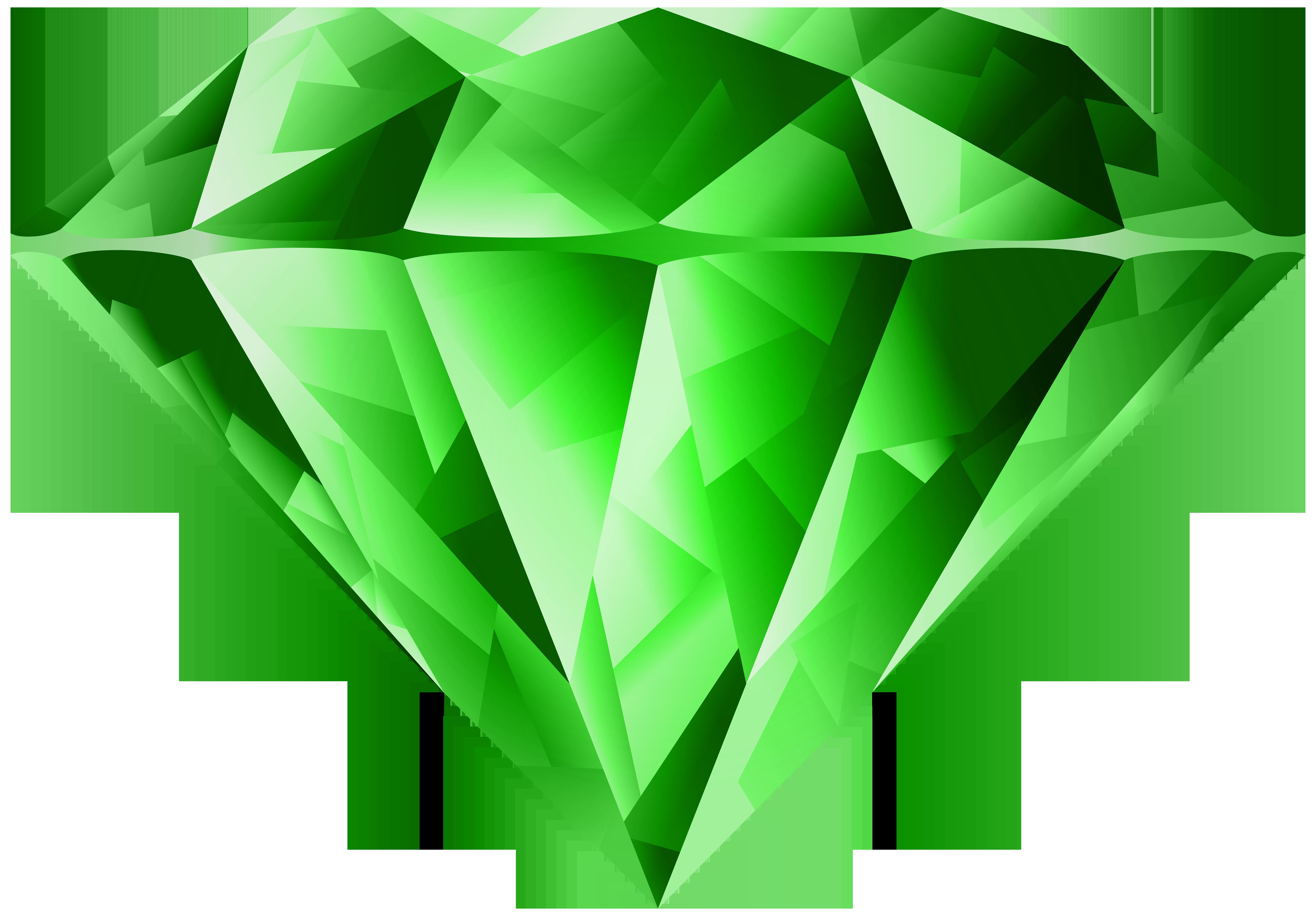 Emerald clipart diamond Art Image size Clip Green