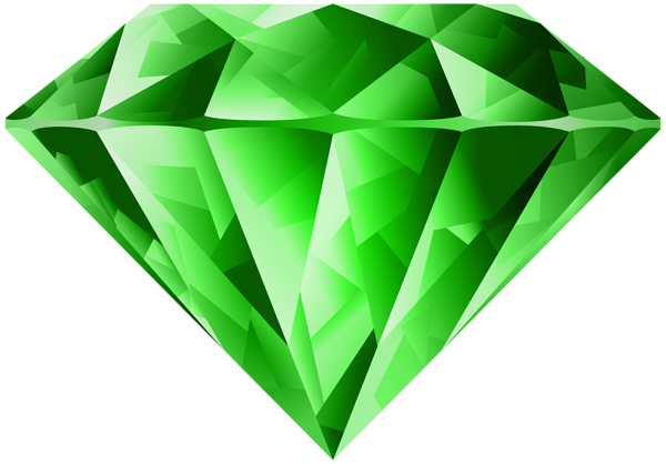 Emerald clipart diamond Transparent PNG  Transparent Diamond
