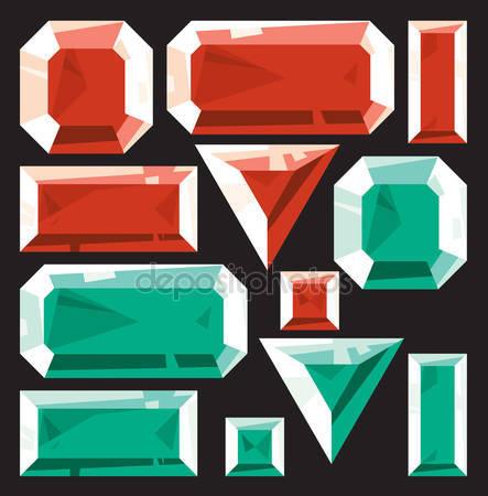 Emerald clipart esmeralda Ruby Royalty Esmeralda Vectors