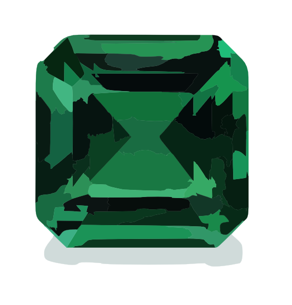 Emerald clipart large At Tags Clip emerald art