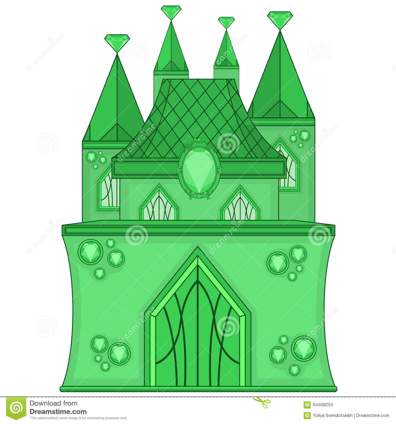 Emerald clipart large Art Medium City With Clip