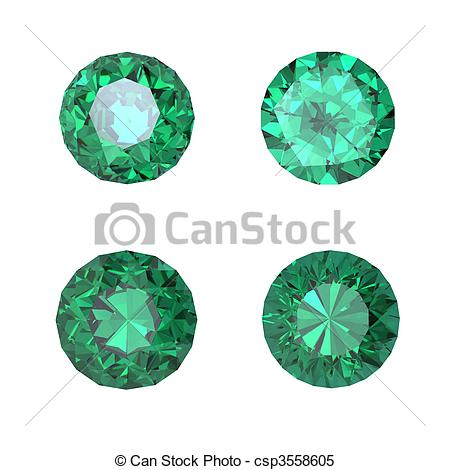 Emerald clipart round Emerald images emerald art and