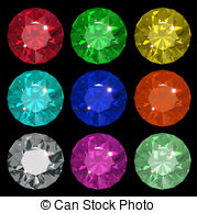 Emerald clipart round Illustrations free Clipartby royalty