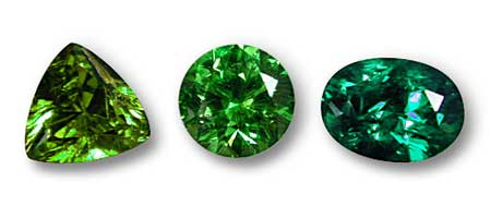 Emerald clipart small colored gem stone shape #1