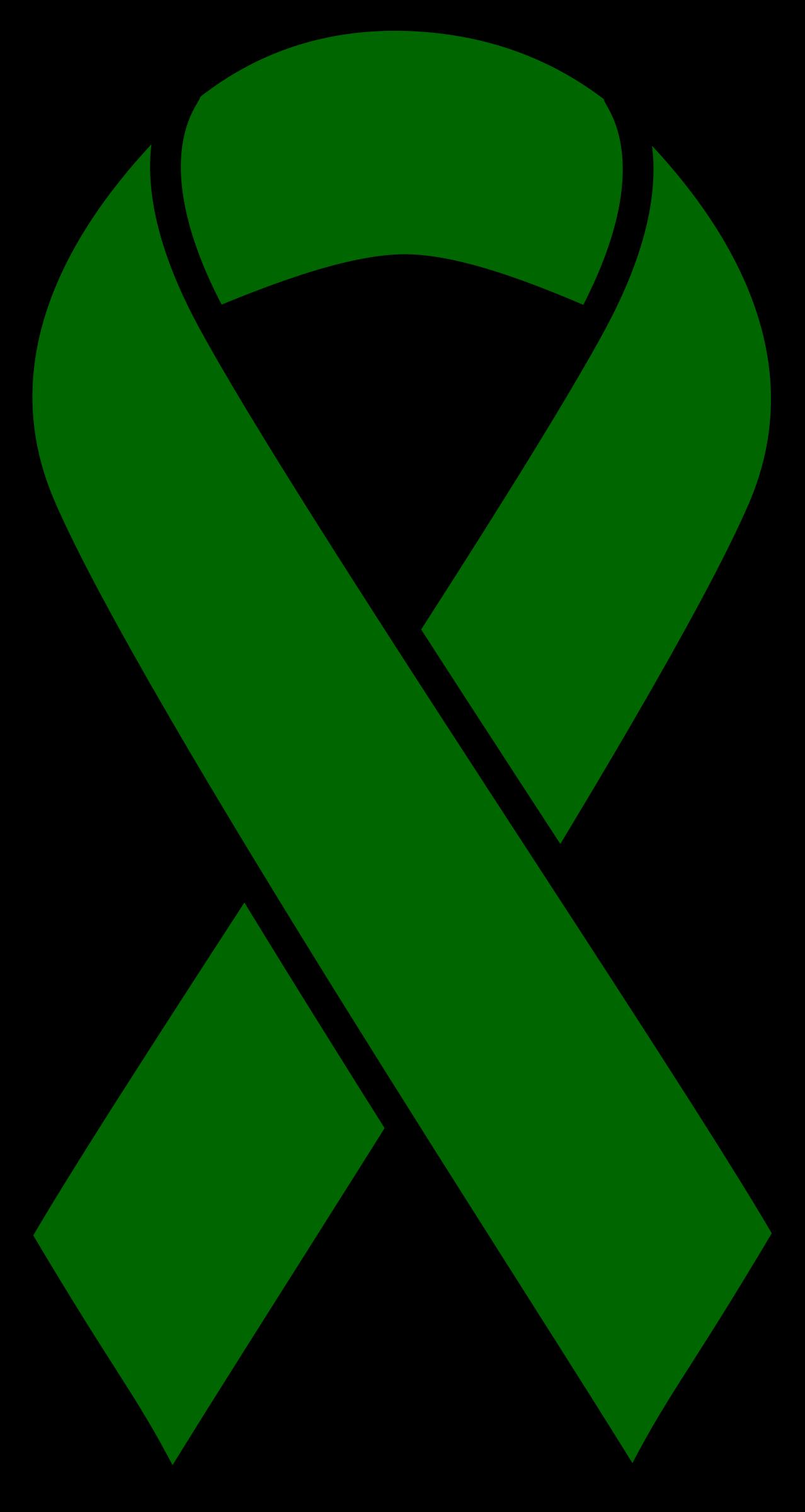 Emerald clipart transparent Ribbon Green Cancer emerald clipart