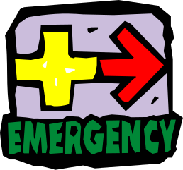 Emergency clipart #3