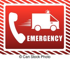 Emergency clipart #8