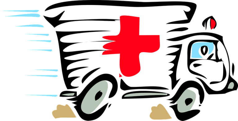 Emergency clipart hospital cross Paramedic hospital emergency 50527 truck