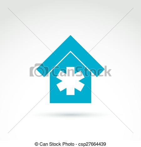 Emergency clipart hospital cross Blue cross symbol Vector hospital