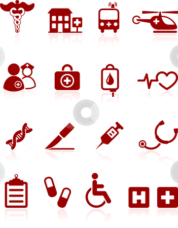 Internet icon Similar Medical hospital