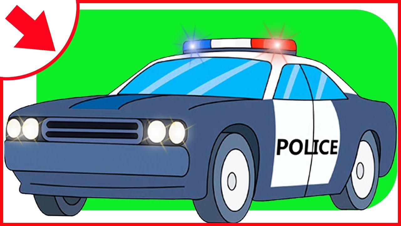 Emergency clipart police car Truck Car Cartoons with Emergency