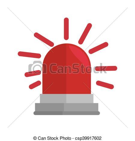 Emergency clipart siren Vector Vector alarm siren emergency