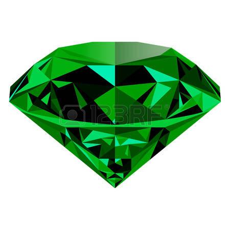 Emerl clipart gemstone Clipart 865 Stock Green gemstones