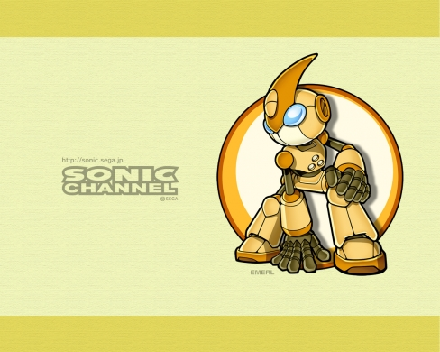 Emerl clipart large Wallpaper Wp X Sonic Emerl