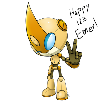 Emerl clipart transparent Emerl DeviantArt Gemerl and Robot