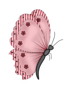 Emo clipart butterfly #7