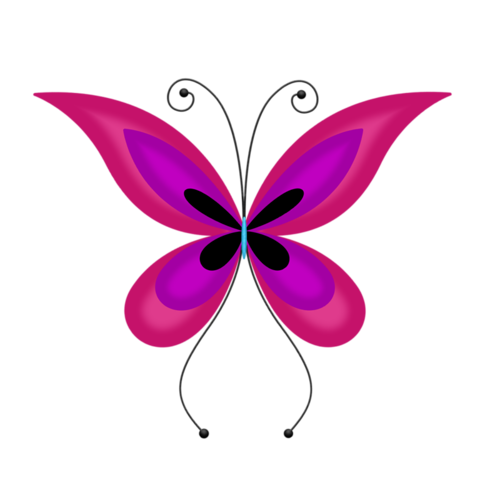 Emo clipart butterfly #4