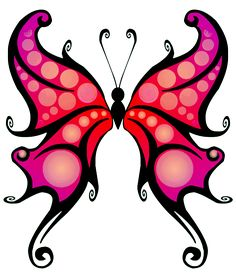 Emo clipart butterfly #3