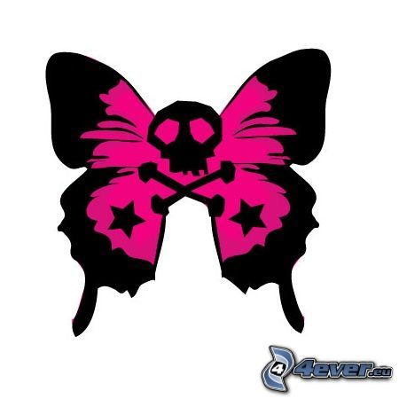 Emo clipart butterfly #9
