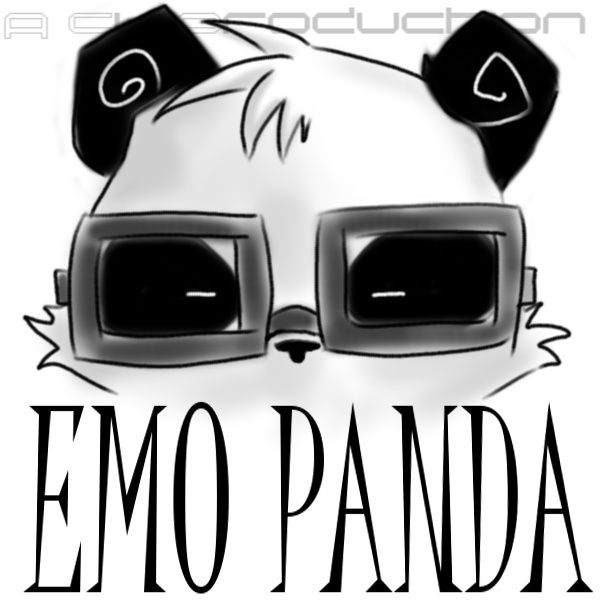 Emo clipart cute thing Pinterest Cartoons PANDA 130 ~Cykitty