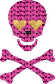 Emo clipart glitter And Gothic Military skull Pinterest