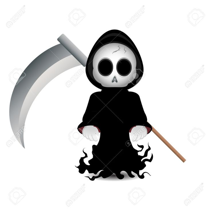 Deadth clipart cute cross Grim images Death on Graphics