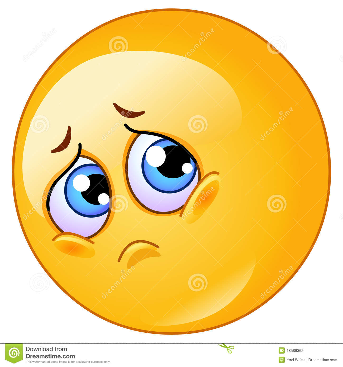 Emotional clipart unhappy person Emoticon 59 Million Stock Sad