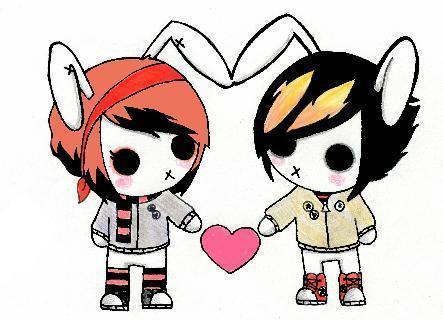 Emo clipart love Crazykat83 Graphics: for writes: community