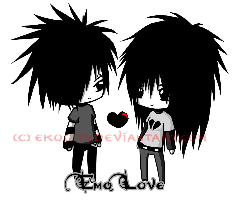 Emo clipart love DeviantArt: Emo PosessedRaven More