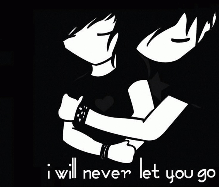 Emo clipart love Emo love Free couples couples
