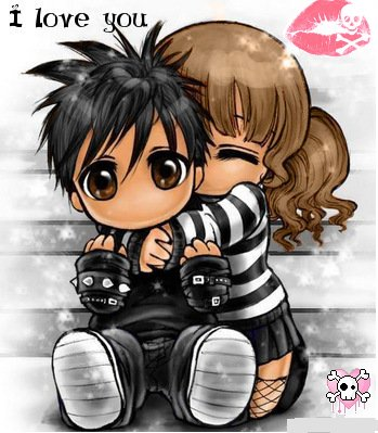 Emo clipart love 40 Adorable 40 Cute Hug